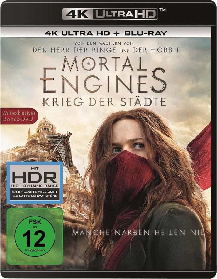 Mortal Engines - Krieg der Städte (2018) (4K Ultra HD + Blu-ray + DVD)