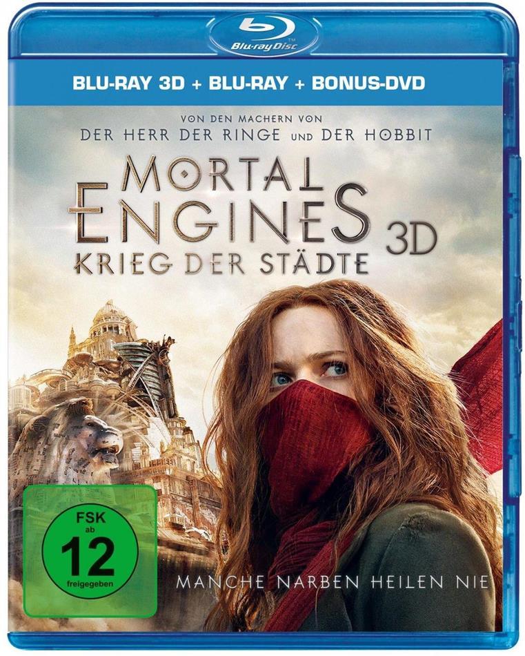Mortal Engines - Krieg der Städte (2018) (Blu-ray 3D + Blu-ray + DVD)