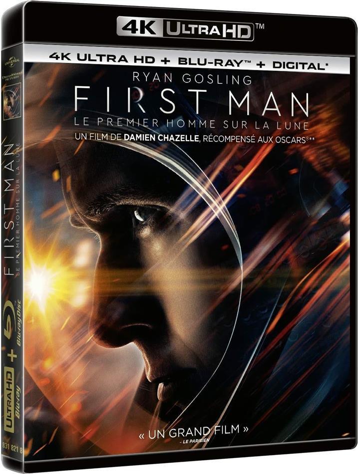 First Man - Le Premier Homme sur la Lune (2018) (4K Ultra HD + Blu-ray)