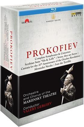 Prokofiev Complete Symphonies & Concertos [7 BRs]