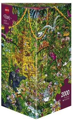 Deep Jungle Triangular - 2000 Teile Puzzle