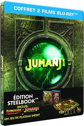 Jumanji (1995) + Jumanji (2017) (Limited Edition, Steelbook, 2 Blu-rays)