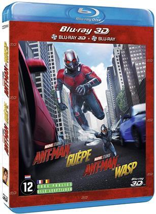 Ant-Man et la Guêpe (2018) (Blu-ray 3D + Blu-ray)
