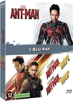 Ant-Man (2015) / Ant-Man et la Guêpe (2018) (2 Blu-rays)