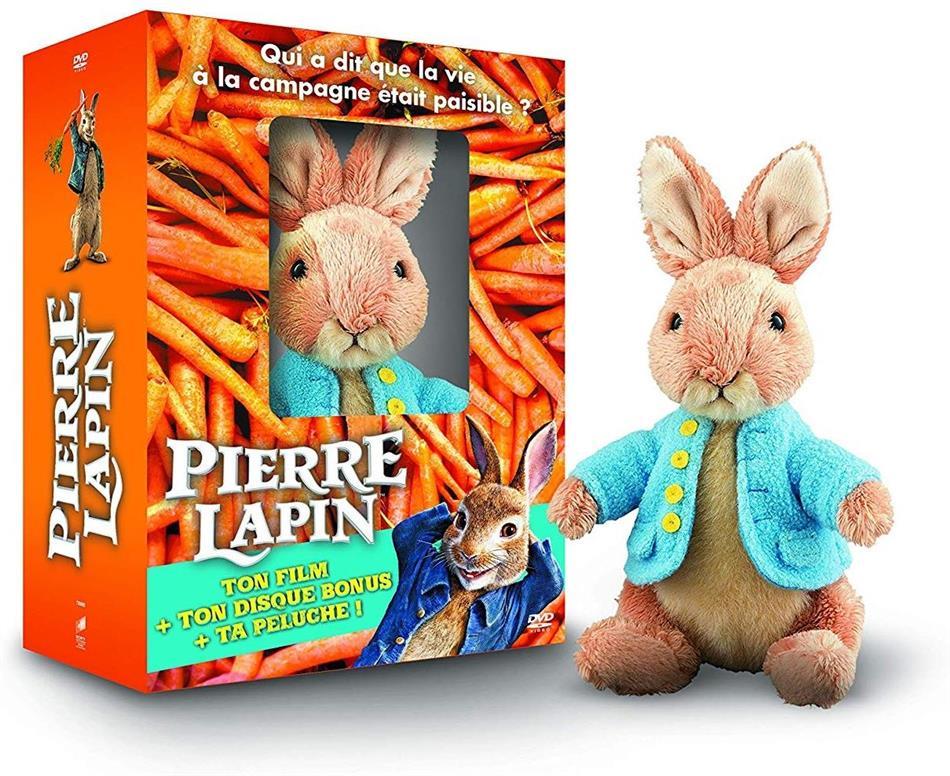 Pierre Lapin - Avec la peluche de Pierre Lapin (2018) (Limited Edition, 2 DVDs)