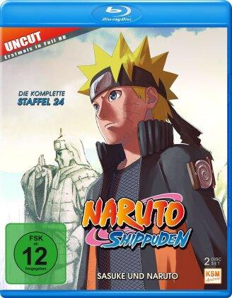 Naruto Shippuden - Staffel 24 (Uncut, 2 Blu-rays)