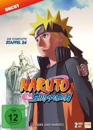 Naruto Shippuden - Staffel 24 (Uncut, 2 DVDs)