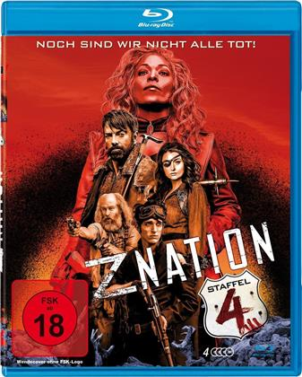 Z Nation - Staffel 4 (Uncut, 4 Blu-rays)
