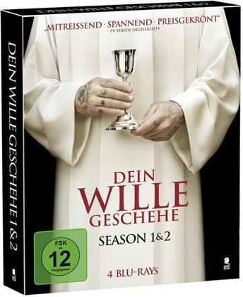 Dein Wille geschehe - Staffel 1 & 2 (Limited Edition, Mediabook, 4 Blu-rays)