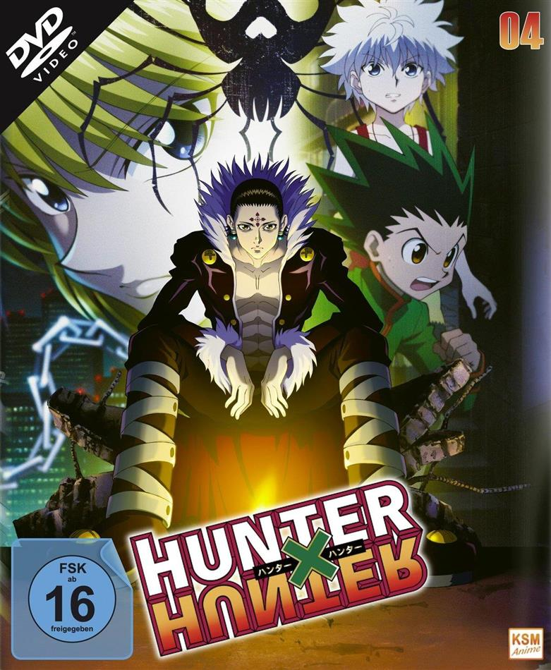 Hunter X Hunter - Vol. 4 (2011) (2 DVDs)