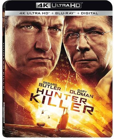 Hunter Killer (2018) (4K Ultra HD + Blu-ray)