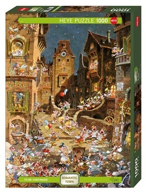 By Night - 1000 Teile Puzzle