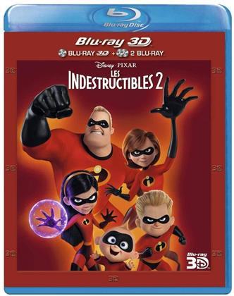 Les Indestructibles 2 (2018) (Blu-ray 3D + Blu-ray)