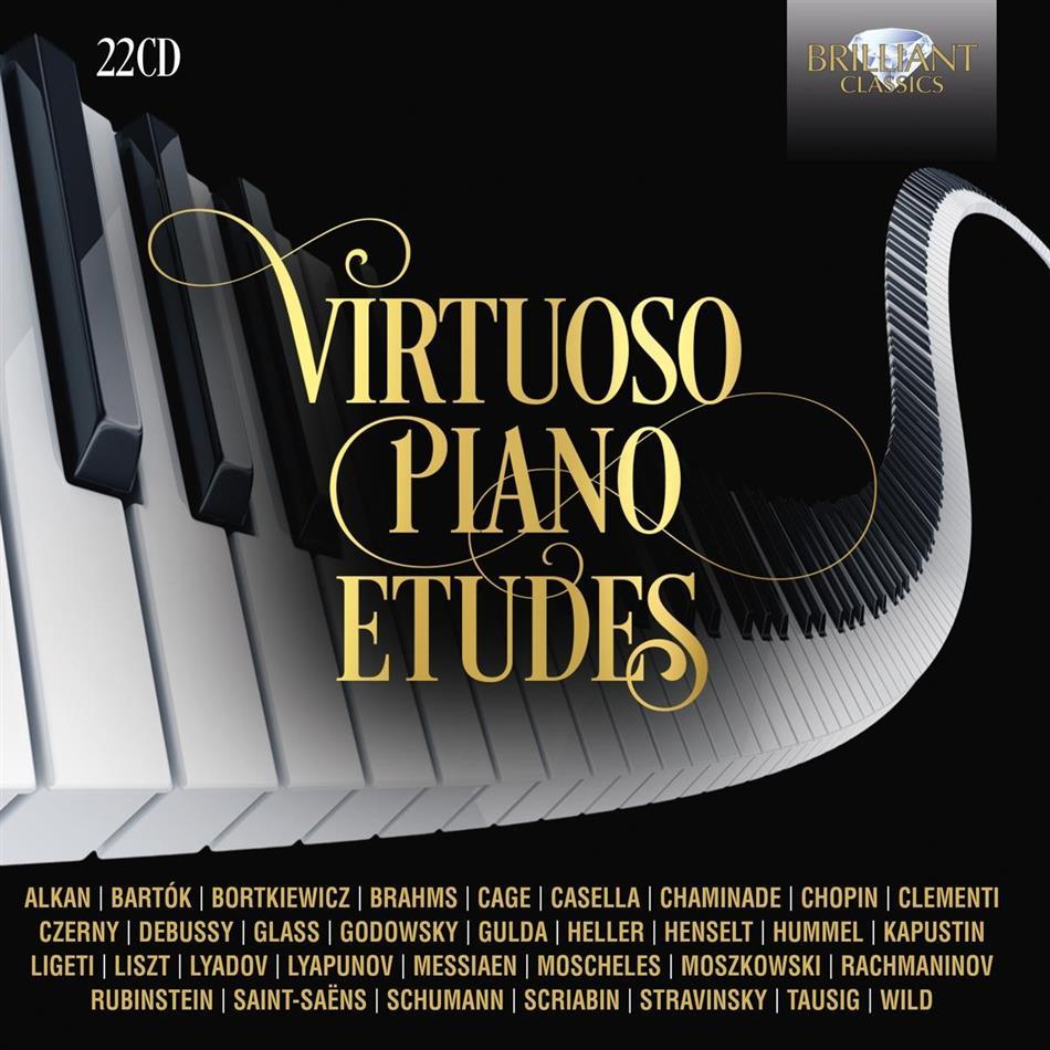 Virtuoso Piano Etudes (22 CDs)