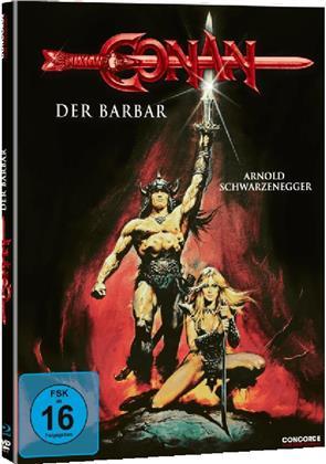 Conan - Der Barbar (1982) (Limited Edition, Mediabook, Blu-ray + DVD)