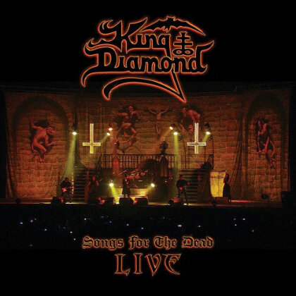 Songs For The Dead Live (2 DVDs + CD) - King Diamond