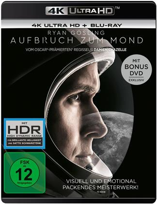 Aufbruch zum Mond (2018) (4K Ultra HD + Blu-ray + DVD)
