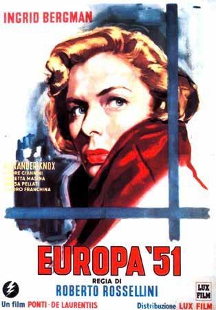 Europa '51 (1952) (Nuova Edizione, s/w)