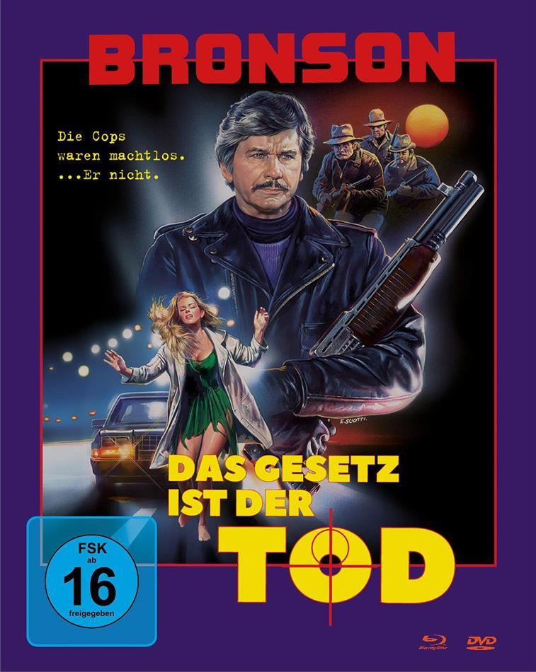 Das Gesetz ist der Tod (1988) (Cover A, Mediabook, Blu-ray + DVD)