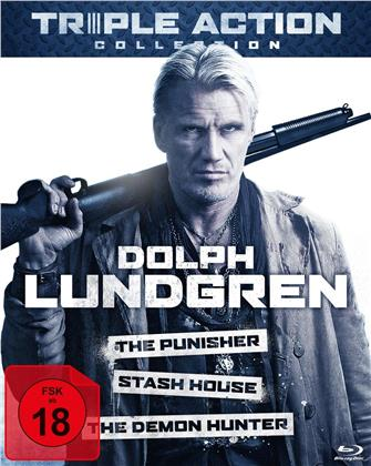Dolph Lundgren Triple Action Collection - The Punisher / Stash House / The Demon Hunter (3 Blu-rays)