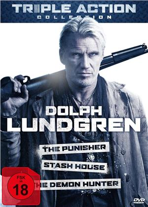 Dolph Lundgren Triple Action Collection - The Punisher / Stash House / The Demon Hunter (3 DVDs)