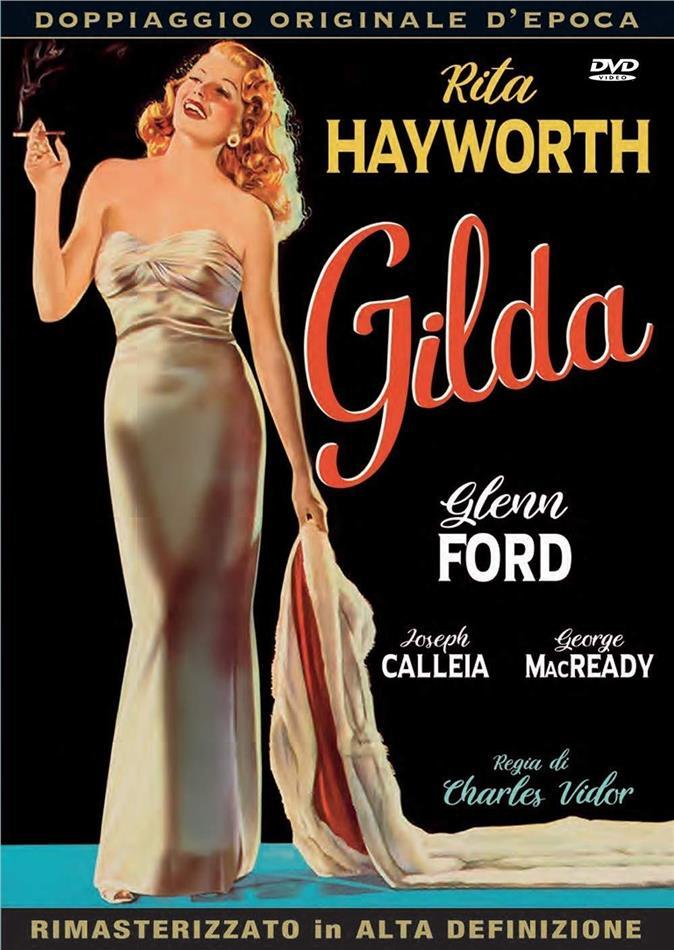 Gilda (1946) (Doppiaggio Originale D'epoca, HD-Remastered, s/w)