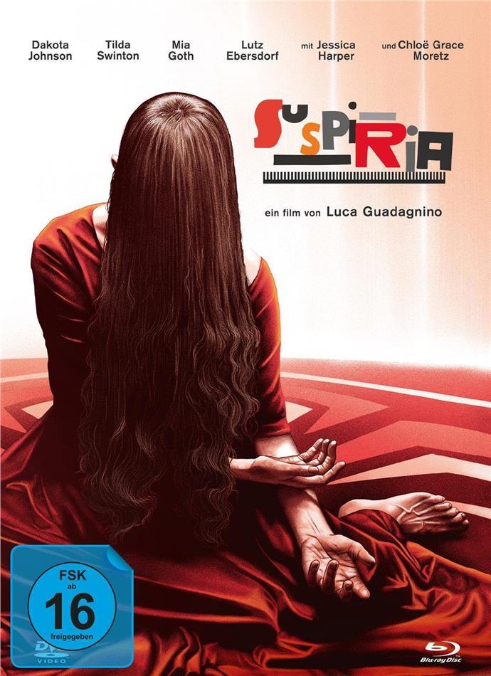 Suspiria (2018) (Cover B, Mediabook, 2 Blu-rays + DVD)