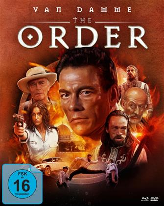 The Order (2001) (Cover B, Mediabook, Blu-ray + DVD)