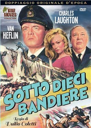 Sotto dieci bandiere (1960) (War Movies Collection, Doppiaggio Originale D'epoca, n/b)