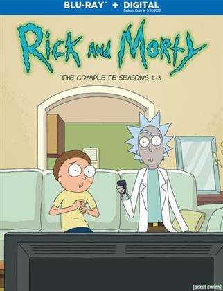 Rick and Morty - Seasons 1-3 (3 Blu-rays)