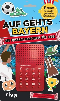 Auf geht's Bayern – die Fußballmaschine für Bayern-Fans