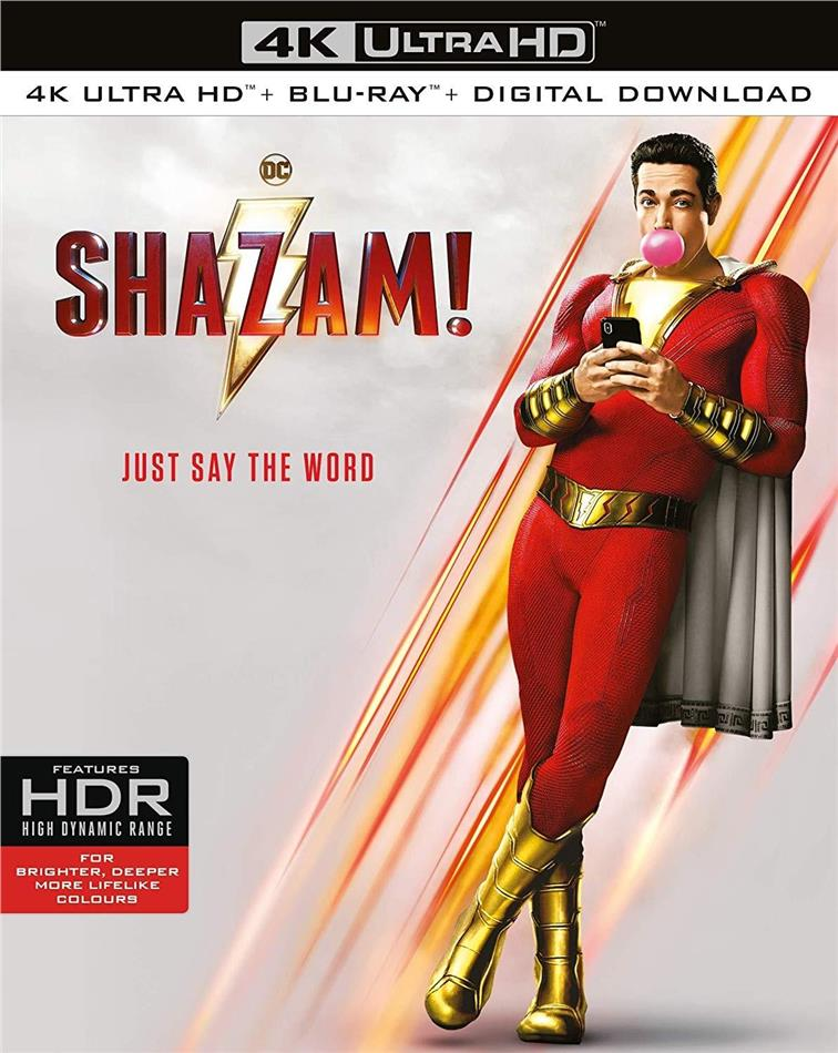 Shazam! (2019) (4K Ultra HD + Blu-ray)