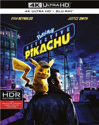 Detective Pikachu - Pokémon (2019) (4K Ultra HD + Blu-ray)