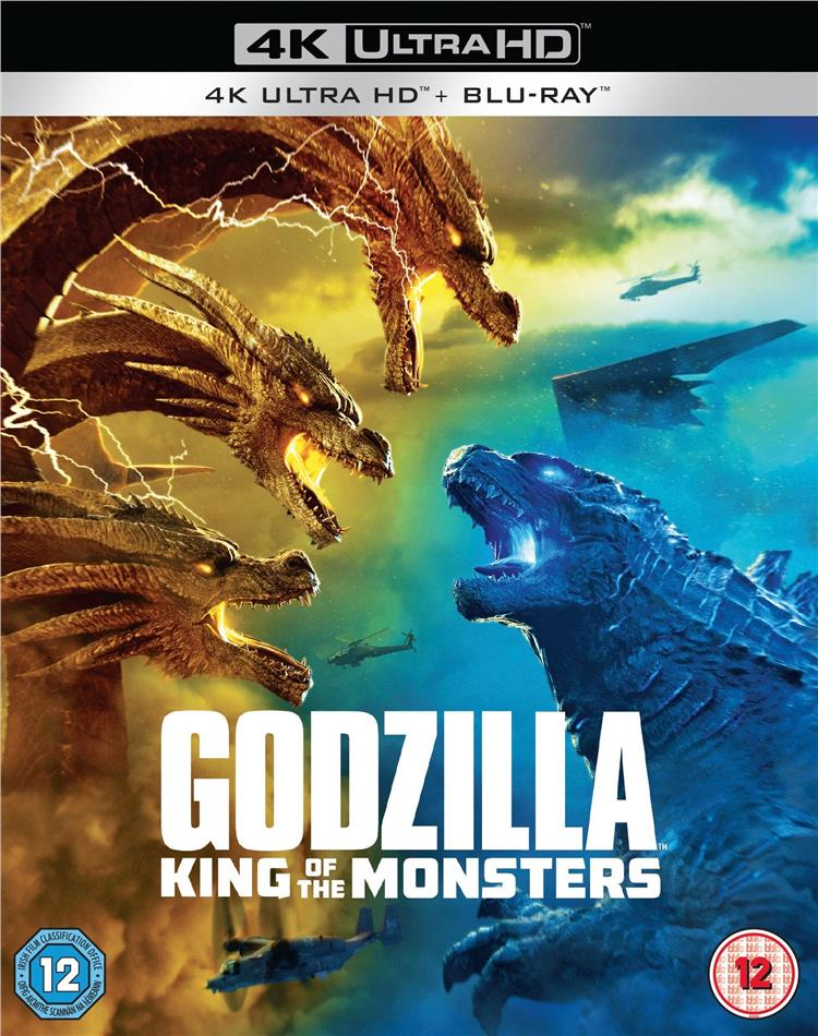 Godzilla 2 - King Of The Monsters (2019) (4K Ultra HD + Blu-ray)