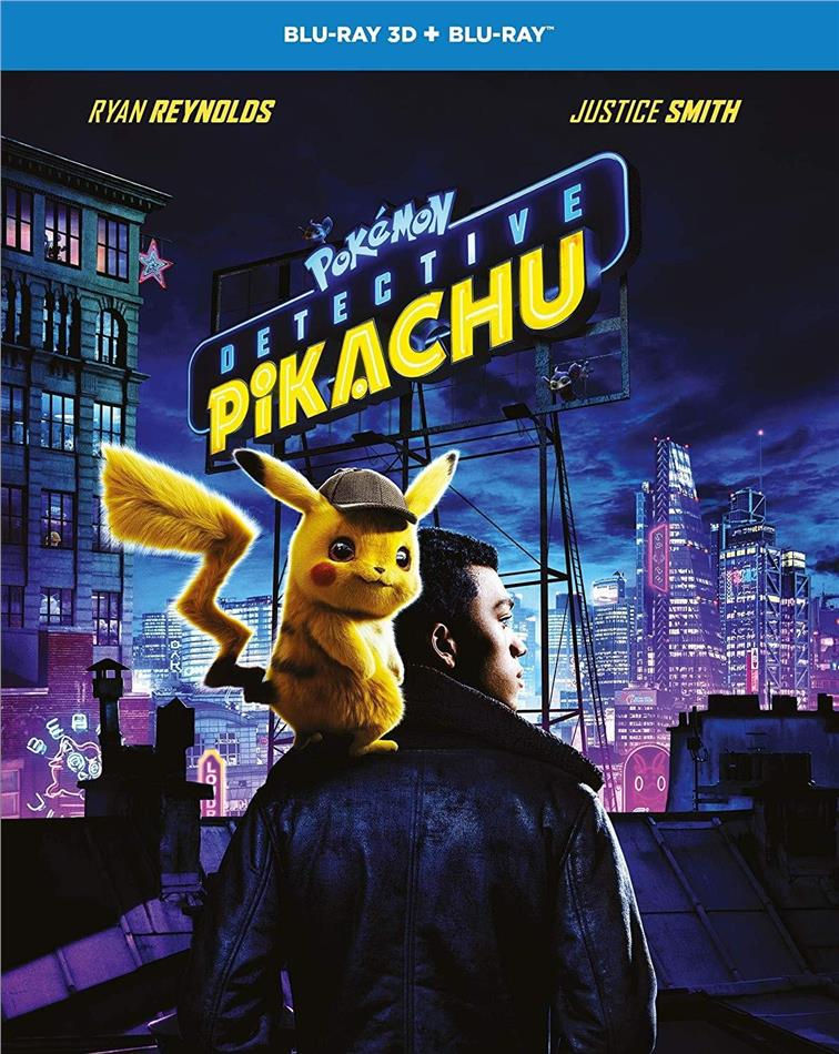 Detective Pikachu - Pokémon (2019) (Blu-ray 3D + Blu-ray)