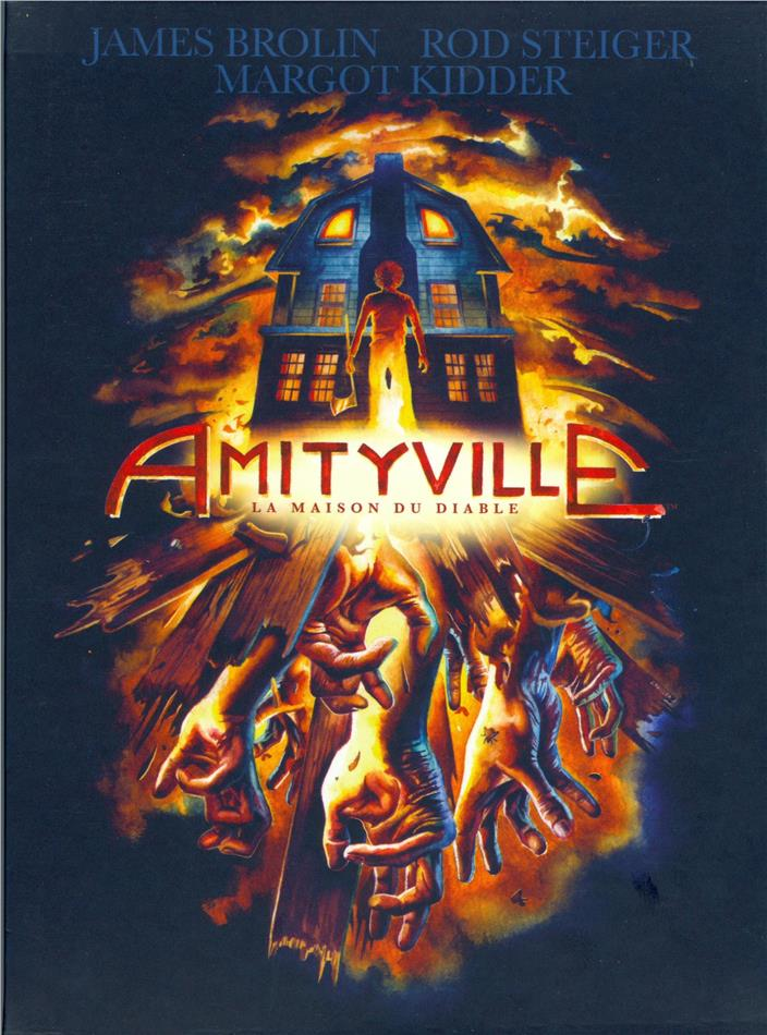 Amityville - La Trilogie (Digipack, Collector's Edition, Limited Edition, 3 Blu-rays + 3 DVDs)
