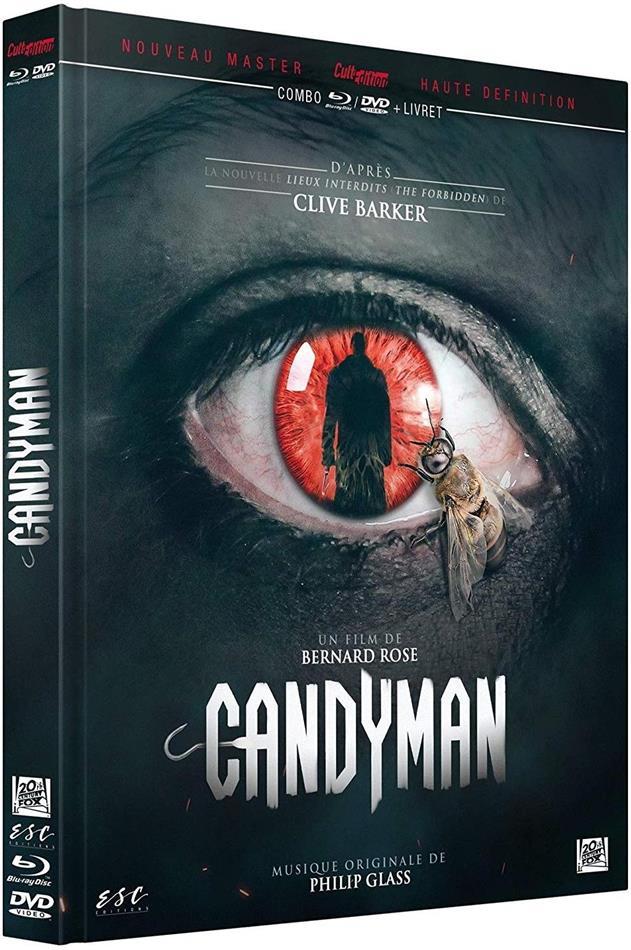 Candyman (1992) (Limited Edition, Mediabook, Remastered, Blu-ray + DVD)