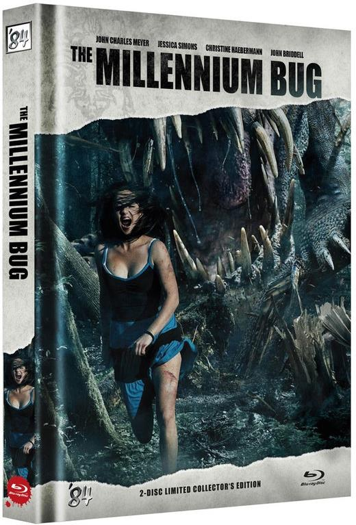 The Millennium Bug (2011) (Cover B, Collector's Edition, Limited Edition, Mediabook, Blu-ray + DVD)