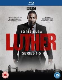 Luther - Series 1-5 (BBC, 7 Blu-ray)