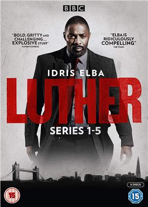 Luther - Series 1-5 (BBC, 9 DVD)