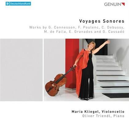 Guillaume Connesson, Francis Poulenc (1899-1963), Claude Debussy (1862-1918), Manuel de Falla (1876-1946), Enrique Granados (1867-1916), … - Voyages Sonores