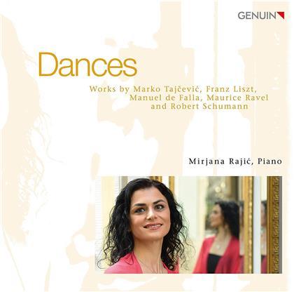 Mirjana Rajic, Marko Tajcevic, Franz Liszt (1811-1886), Maurice Ravel (1875-1937), Robert Schumann (1810-1856), … - Dances
