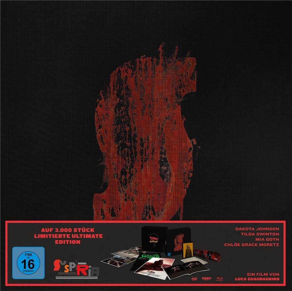 Suspiria (2018) (Limited Edition, Ultimate Edition, 2 4K Ultra HDs + 2 Blu-rays + DVD + 3 CDs)