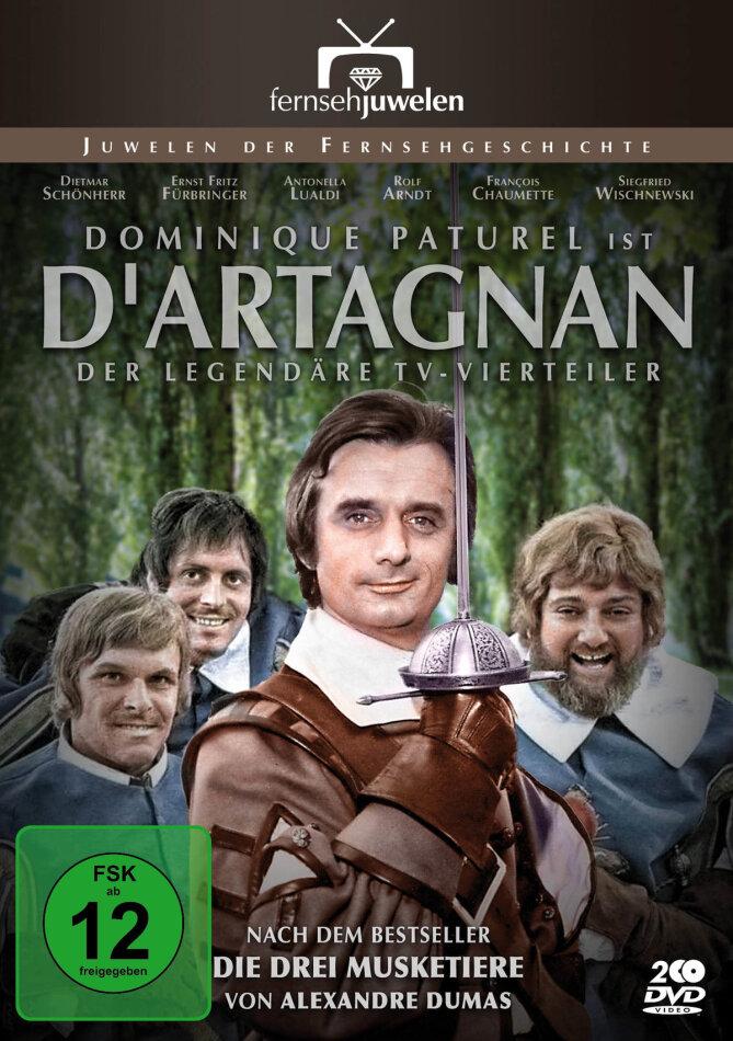 D'Artagnan - Der legendäre ARD-Vierteiler (Filmjuwelen, 2 DVDs)