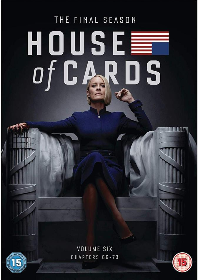 House Of Cards - Season 6 - The Final Season (3 DVDs)
