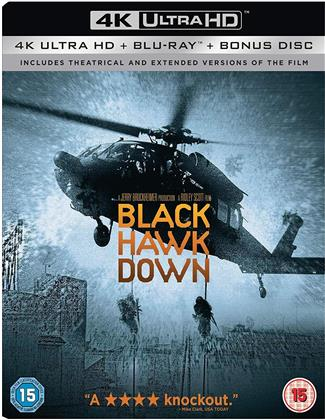 Black Hawk Down (2001) (4K Ultra HD + 2 Blu-rays)