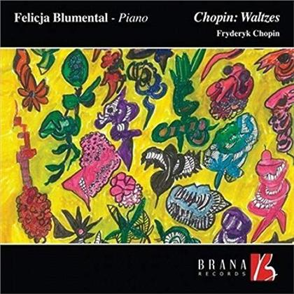 Felicja Blumental & Frédéric Chopin (1810-1849) - Waltzes / Walzer (LP)