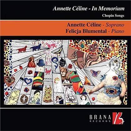 Frédéric Chopin (1810-1849), Annette Celine & Felicja Blumental - In Memoriam - Chopin Songs (LP)