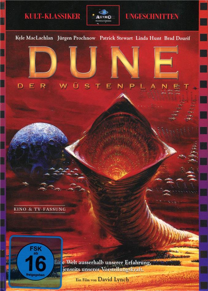 Dune - Der Wüstenplanet (1984) (Cover A, Kinoversion, Limited Edition, Langfassung, Mediabook, Uncut, 3 Blu-rays)