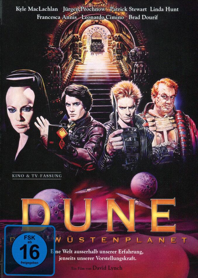 Dune - Der Wüstenplanet (1984) (Cover B, Kinoversion, Limited Edition, Langfassung, Mediabook, 2 Blu-rays)